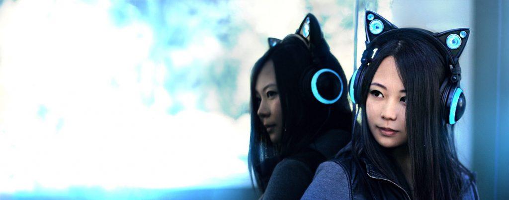 Tai nghe mèo bluetooth